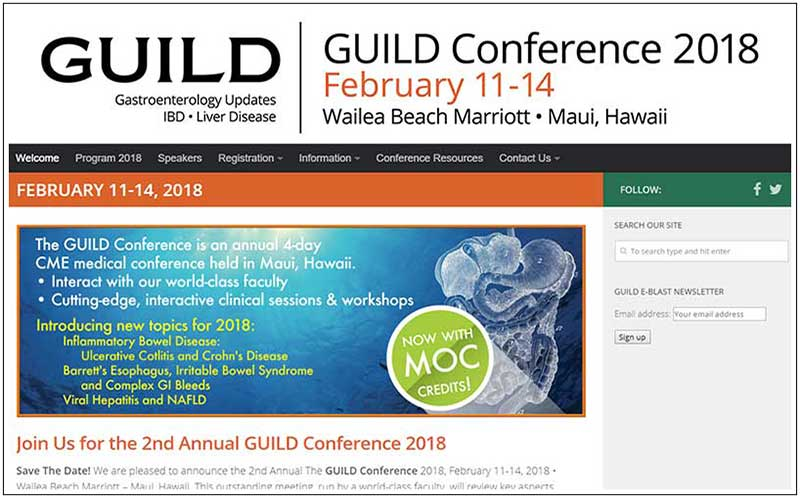 GUILD Conference 2018