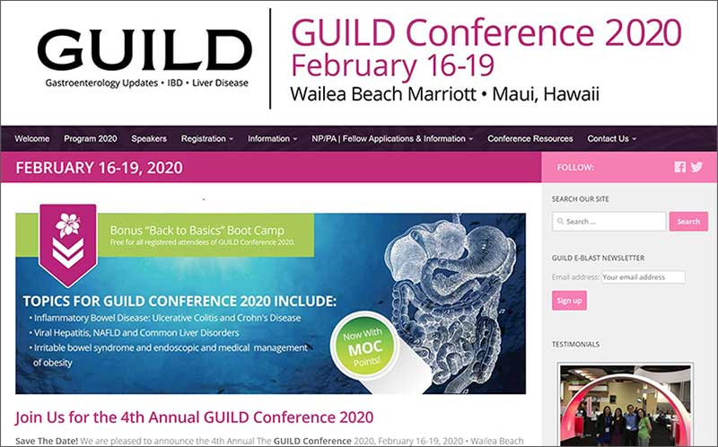 GUILD Conference 2020